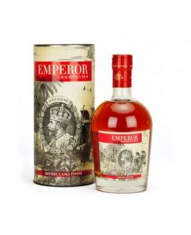 Rom Emperor Mauritius Sherry Cask Finish Aged Blend 40 GRD - ST0.7L