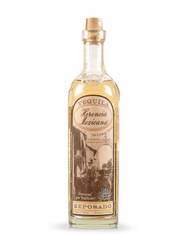 Tequila Herencia Mexicana Reposado din Agave 40 GRD - 0.7L
