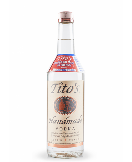 Vodka Tito\'s Handmade GLUTEN FREE Crafted In An Old Fashioned Pot Still USA 40% - ST0.7L