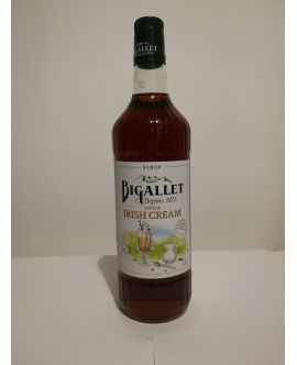 Sirop Pt Cocktail BIGALLET 1872 Irish Cream (Crema Irish) Fara Conservanti Franta - 1Litru