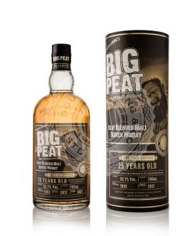 Whisky Big Peat Blended Malt Scotch 25 Years GOLD Edition 52,1 GRD - ST0,7L