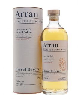 Whisky Arran Single Malt BAREL RESERVE NEW MODEL Lochranza 43 GRD Scotia - ST0.7L