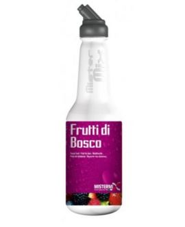 Concentrat Premix MisterMix Frutti di Bosco Mixed Berries Mix Premium Fruit Italia - 0.75Litri