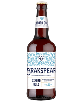 Bere BRAKSPEAR OXFORD GOLD Tip English Gold Ale 4.6 GRD UK- ST0,50L