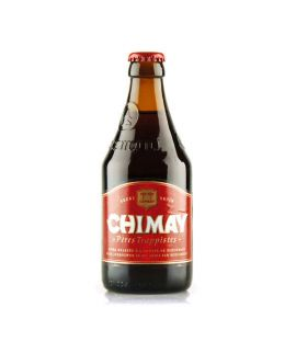 Bere CHIMAY ROUGE Tip Trappist Abatie Bruna 7 GRD Ab Scormont Belgia - ST0,33L