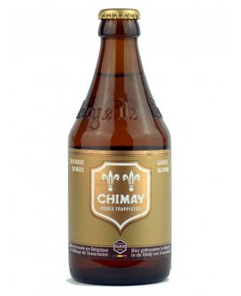 Bere CHIMAY DOREE Tip Trappist Abatie GOLD BLOND 4.8 GRD Ab Scormont Belgia - ST0,33L