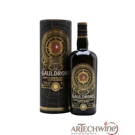 Whisky GAULDRONS Campbeltown Blended Malt Scotch 46,2 GRD - ST0,7L