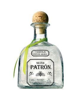 Tequila Patron Anejo Silver 40% din Agave 100% - 0.7L