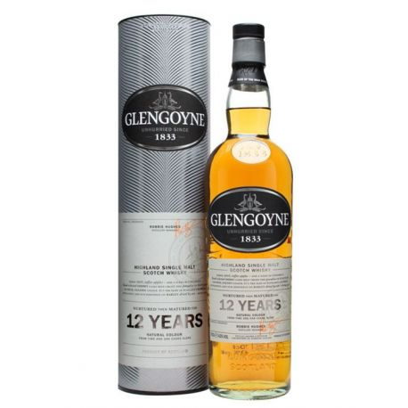Whisky GlenGoyne 12 Years Single Malt 43 GRD - ST0,7L