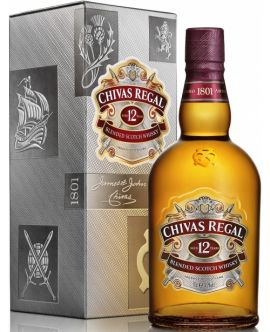Whisky Chivas Regal 12 Years Blended Scotch 40 GRD - ST0,7L